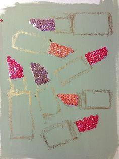 Lipstick Art by Paperfashion