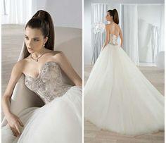 Vestido de noiva da coleção de Demetrios 2016