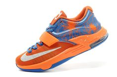 http://www.jordan2u.com/on-sale-nike-kd-7-vii-custom-team-orangephoto-bluewhite-for-sale-online.html Only$95.00 ON SALE #NIKE KD 7 (VII) CUSTOM TEAM ORANGE/PHOTO BLUE-WHITE FOR SALE ONLINE Free Shipping!