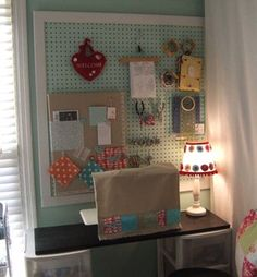 another pegboard