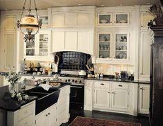 White Kitchen Farmhouse Sink farmhouse sinks with graniter tops | panels double porcelain