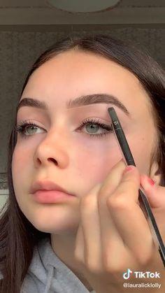 Brown Skin Makeup, Edgy Makeup, Simple Eye Makeup, Flawless Makeup, Cute Makeup, Brown Eyeliner, Makeup Set, Lip Makeup, Natural Everyday Makeup