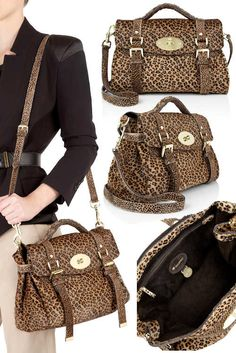 9ef67f3f5db3 Mulberry Alexa Leopard Bag in Haircalf Leather Oh my! It s finally arrived  at my-wardrobe – the gorgeous Mulberry Alexa Leopard Bag which it feels  like ...