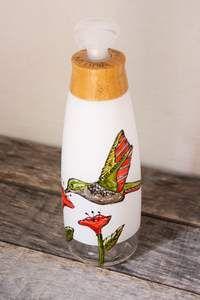 Pompe à savon moussant design colibri – Pero