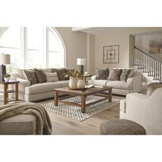 House Helpful Techniques For contemporary design living room fireplaces Design Living Room, Living Room Sets, Living Room Interior, Living Room Decor, Dining Room, Beige Sofa Living Room, Cozy Living, Benchcraft Furniture, Living Furniture