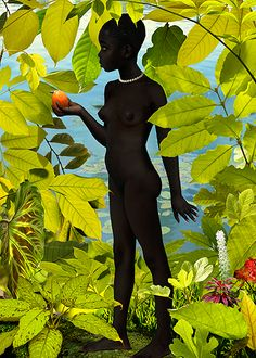 Ruud van Empel · Miss Moss Motif Tropical, Tropical Style, Miss Moss, Realistic Paintings, Dutch Artists, African American Art, Painting & Drawing, Amazing Art, Awesome