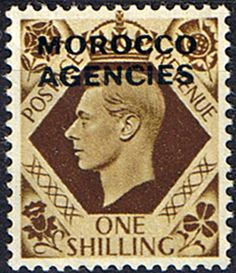 Morocco Agencies British Currency 1949 King George VI SG 91 Fine Mint SG 91 Scott 260 Condition Fine LMM Only one post charge applied on multipule