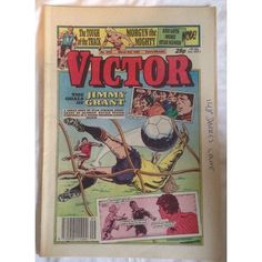 Victor #1515 Comic UK March 1990 Football Sport Action Adventure 1.50