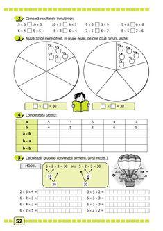 Clasa a II-a : Matematică și explorarea mediului. Clasa a II-a. Partea I - (E3) After School