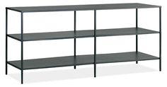 Slim Media Consoles in Natural Steel - Media Storage - Living - Room & Board