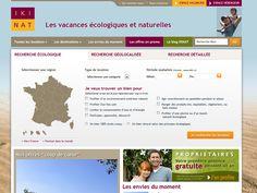 Ikinat, création du site et référencement