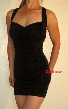 Sexy little black dress!