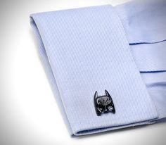 The Dark Knight Batman Cufflinks. Awesome!!