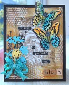 Kath's Blog......diary of the everyday life of a crafter: Butterfly Beauty...
