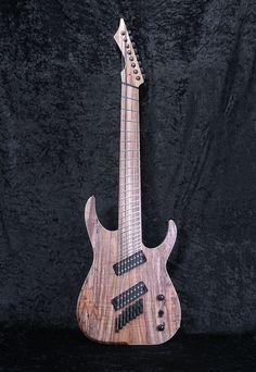 Blackmachine fanned fret 8 string guitar