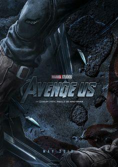 Avenge Us poster (5) by BossLogic - Steve Rogers/Captain América
