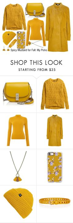 """""""Pantone - Spicy Mustard for Fall: My Picks"""" by tlb0318 ❤ liked on Polyvore featuring Marc Jacobs, H&M, Therapy, Topshop Unique, Atelier Maï Martin, Casetify, Echo and Étoile Isabel Marant"""