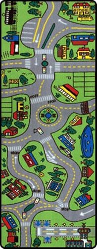 Area Rugs Ikea Car Play Mat Road Rug Giant Street Carpet Toy Cars Playroom Nice Gift NEW