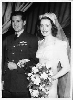 Actress Deborah Kerr was married to Royal Air Force Squadron Leader Anthony Bartley 1945-1959.
