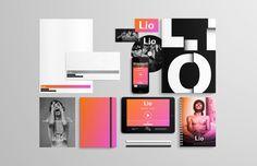 Diseño de marca y papeleria para lioradio.com