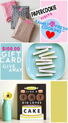 Say Hello to Papercookie: a favorite paper & gifts boutique + giveaway on FamilyFreshCooking.com