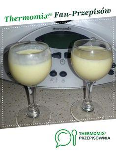 Likier Rafaello jest to przepis stworzony przez użytkownika Sissi000111. Ten przepis na Thermomix<sup>®</sup> znajdziesz w kategorii Napoje na www.przepisownia.pl, społeczności Thermomix<sup>®</sup>. Glass Of Milk, Food And Drink, Drinks, Recipes, Thumbnail Image, Gastronomia, Thermomix, Drinking, Beverages