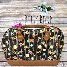 Betty Boop Collectible Bowling Bag  ★ In excellent condition, practically new with the exception of slight wear on one corner (see photo!).  ★ Price reflects that this is a limited edition, collector's item of Betty Boop. Bowling bag is the best description I could think of!  ★ NO TRADES!  ★ YES OFFERS! ✅ ★ Measurements available by request.  Betty Boop Bags