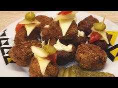 Fasírt - YouTube Easy Entertaining, Hamburger, The Creator, Beef, Make It Yourself, Breakfast, Youtube, Food, Meat