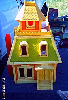 the toy wonder of the early 80's...all my girls played withit, but it was given to Rachel