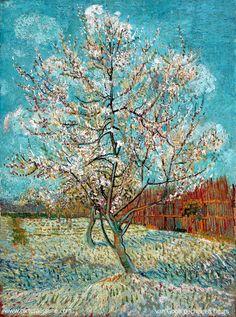 Pêcher en Fleurs - Vincent van Gogh