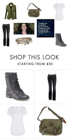 """""""Elle - Woods"""" by caveofmysticdreams ❤ liked on Polyvore featuring Rock Revival, Paige Denim, Ralph Lauren and Aéropostale"""