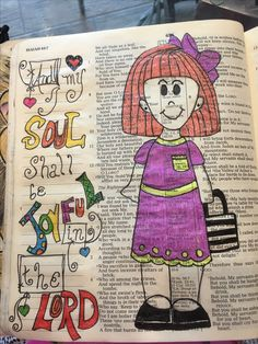 My soul shall be joyful in the Lord. #biblejournaling
