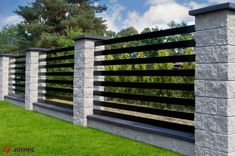 Fence Post How To Ma Best Cool Ideas: Faux Stone Fence pallet front yard fence.Fence Post How To Ma Stone Fence, Brick Fence, Concrete Fence, Front Yard Fence, Farm Fence, Bamboo Fence, Metal Fence, Wooden Fence, Gabion Fence
