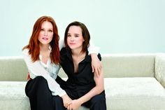 Julianne More and Ellen Page in Freehold <3