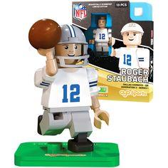 Roger Staubach Dallas Cowboys OYO Sports NFL Series Figurine - $11.99