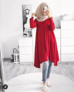 mentions J'aime, 51 commentaires – Ebru ( Modern Hijab Fashion, Street Hijab Fashion, Hijab Fashion Inspiration, Muslim Fashion, Niqab Fashion, Islamic Fashion, Outfits Casual, Casual Hijab Outfit, Fashion Outfits