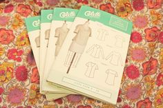 It's here! The Aster blouse from Colette Patterns was launched today, and we have it here in the store. Come get it!