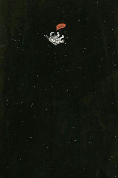 Austronauta / Fondos de pantalla