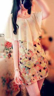 特!森林系田园清新碎花油画vintage修身珍珠包臀显瘦复古连衣裙-淘宝网