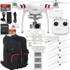 #Christmas Online DJI Phantom 3 Standard with 2.7K Camera and 3-Axis Gimbal & Manufacturer Accessories + SanDisk Extreme 32GB Micro SDHC Memory Card with Adapter (SDSDQXN-032G-G46A) + SSE Phantom Backpack + MORE for Christmas Gifts Idea Store . Any time Christmas  happens, quite a few actions obtain routinary simply because we now have completed these individuals so many periods in the past they've got grow to be some kind of traditions. Whe...