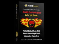 Viper Cache – what is it? Viper Cache it's the easiest and the fastest cache plugin on the market with almost no server lag – this wordpress plugin will make your wordpress sites up to faster in 1 click. How To Introduce Yourself, Make It Yourself, Smart Auto, Bounce Rate, Speed Test, Religion And Politics, Business Pages, Business Advice, Online Business