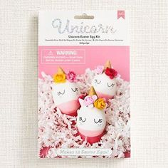Make your Easter eggs magical with this DIY Unicorn Egg Decorating Kit! Makes 12 unicorn Easter eggs that are oh so charming.<br><br>Kit includes: one bottle of food coloring (.6 fl oz), one sheet of