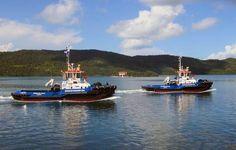 ASD 2810 tugs for MMG Shipping Group. http://www.damen.com/en/news/deliveries/2012/09/asd-2810-virgen-del-valle