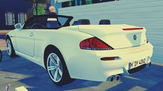 """maximss:  """" 2010 BMW M6 Convertible  • 38k Poly ( Car )  • 3 Swatches ( Car )  • Can be found under """"sculptures""""  Download : Simfileshare  All credits goes to Fresh-Prince  """""""