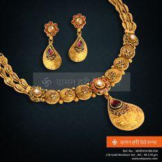 Splendiferous necklace ... a symbol of style ...
