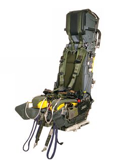 MK10 Ejection Seat. Over 5500 Mk10's currently in service. The seat has saved over 800 air crew lives worldwide.