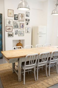 dining room with white smeg :)