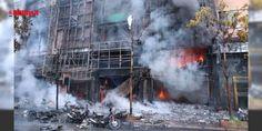 """Karaoke salonunda yangın faciaya yol açtı : Vietnamın başkenti Hanoide bir karaoke salonunda çıkan yangında 13 kişi yaşamını yitirdi.""""VnExpress"""" gazetesi dün gece başkentin Cau Giay bölgesindeki 8 katlı binada henüz bilinmeyen bir sebepten yangın çıktığını yazdı.Hızla yayılan ve yandaki binalara sıçrayan yangında 13 kişi öldü 2si pol...  http://www.haberdex.com/dunya/Karaoke-salonunda-yangin-faciaya-yol-acti/64377?kaynak=feeds #Dünya   #kişi #yangın #saloda #bilinmeyen #sebepten"""