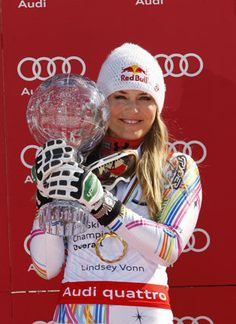 Lindsey Vonn wants to race against men (Getty) #Women #skiing