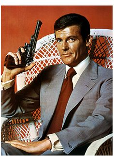 Roger Moore, the 1970s James Bond